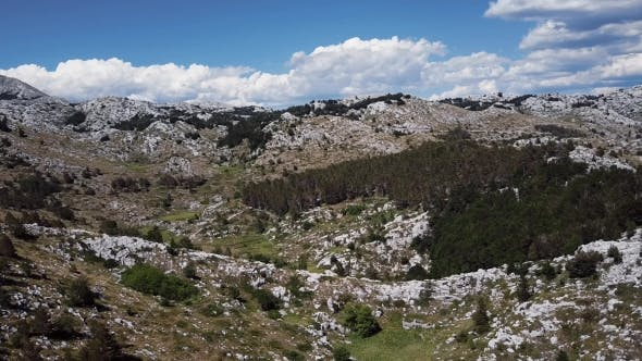 Thumbnail for Desert Landscape in Biokovo Mountains in Croatia