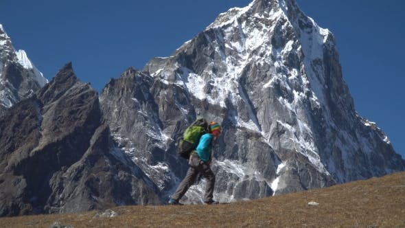 Thumbnail for Backpacker Climbs in the Mountains