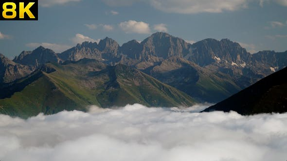 Thumbnail for High Rocky Mountains Over the Clouds