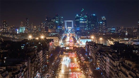 Paris, France - La Défense