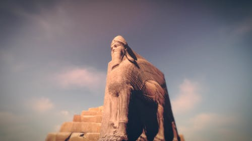 Ancient Sumerian Statue