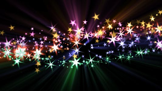 Thumbnail for Holiday Star Trails - Pack of 5