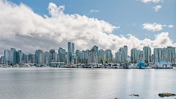 Thumbnail for The Skyline of British Columbia's largest city during the day