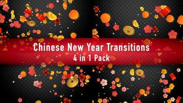 Thumbnail for Chinese New Year Transitions Pack II