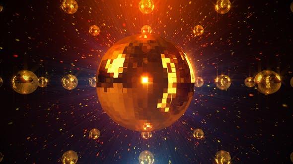 Thumbnail for Golden Disco Ball