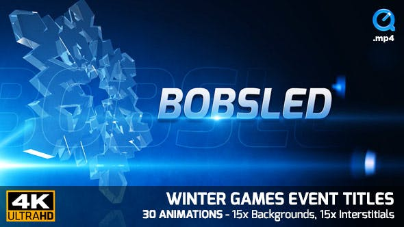 Thumbnail for Winter Games Event Titles 4K