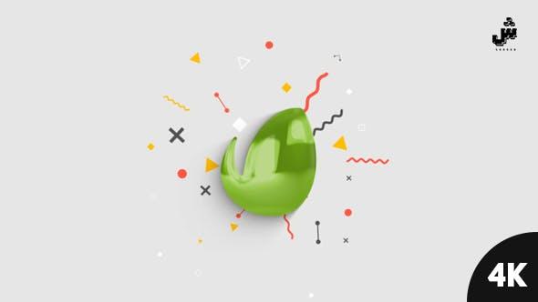 Thumbnail for Revelar el Logo minimalista brillante