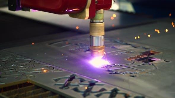 Thumbnail for CNC Laser Plasma Cutting of Metal, Modern Industrial Technology