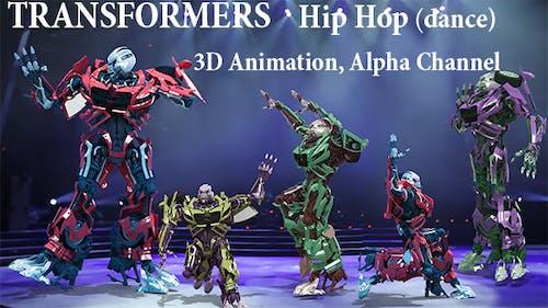 Dancing Transformers Hip Hop
