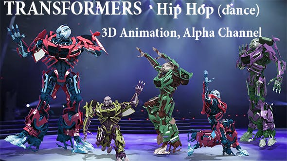 Cover Image for Dancing Transformers Hip Hop