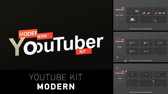 Thumbnail for YouTuber Kit | Moderno