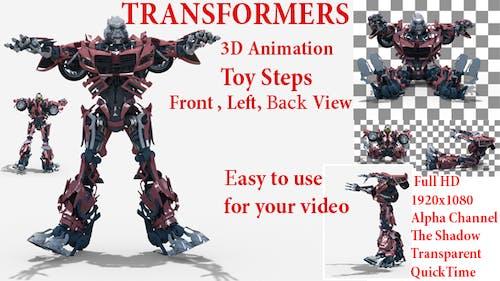 Toy Transformer Steps