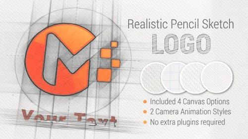 Pencil Sketch Logo