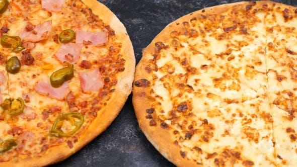 Thumbnail for Three Homemade Pizzas
