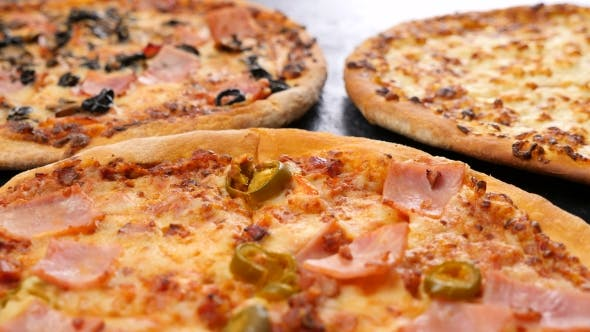 Cover Image for Three Delicious Homemade Pizzas