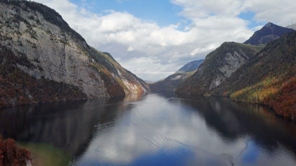 Thumbnail for Flight Over Konigsee Lake, Berchtesgaden, Germany