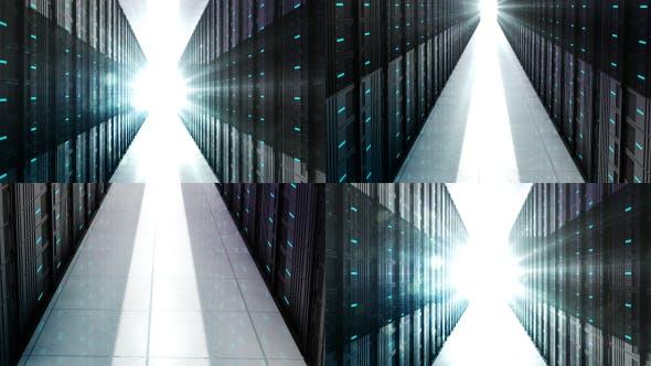 Thumbnail for Artificial Intelligence Data Server Room