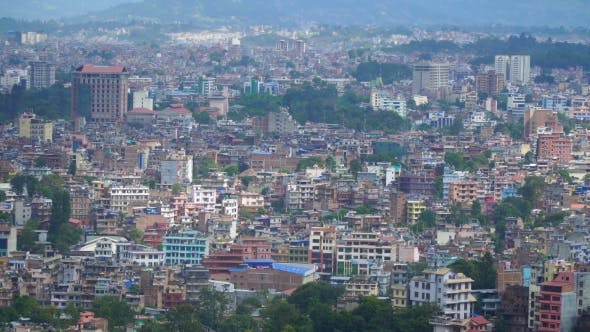 Thumbnail for View of Kathmandu From the Hill