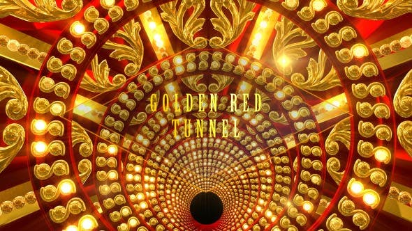 Thumbnail for Golden Red Tunnel