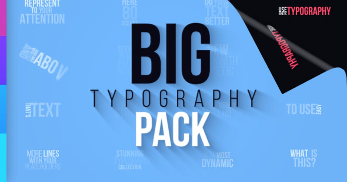Download Big Typography Pack by aniom