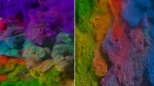 Colorful Smoke Transitions