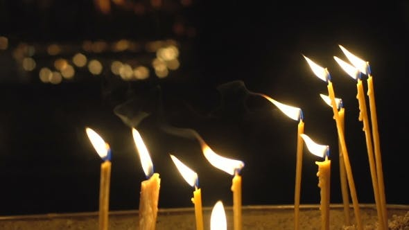 Thumbnail for Church Lighted Candles