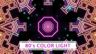80's Color Light VJ Loop