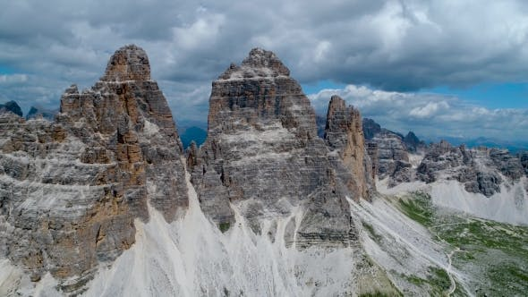 Cover Image for National Nature Park Tre Cime In the Dolomites Alps. Beautiful Nature of Italy.