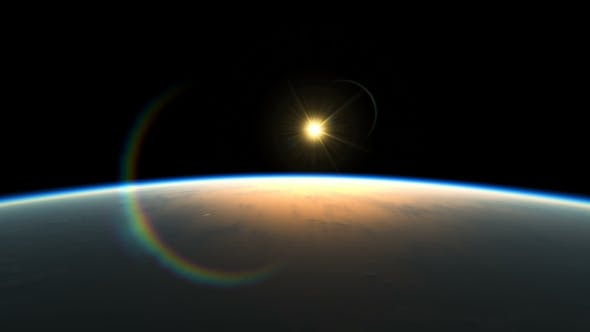 Amazing View Planet From Space