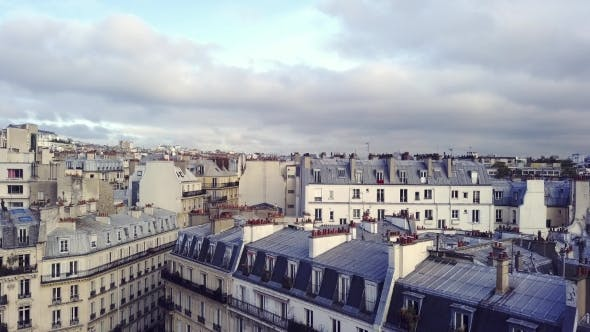 Thumbnail for Aerial View of Eiffel Tower in Paris
