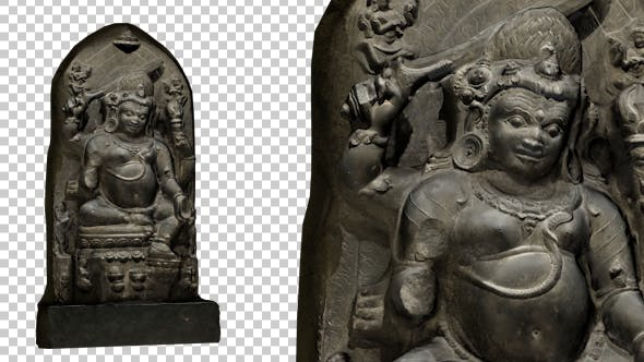 Bangladesh Demon Statue