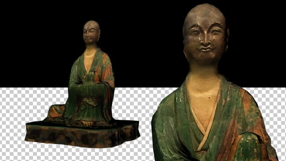 Thumbnail for Green Buddha Statue