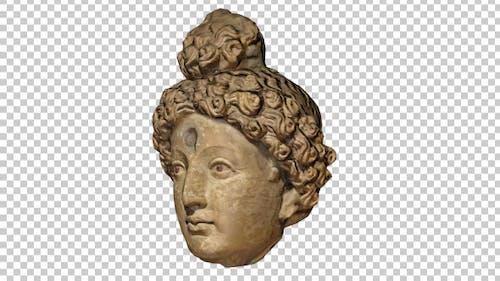 Ancient Head Statue