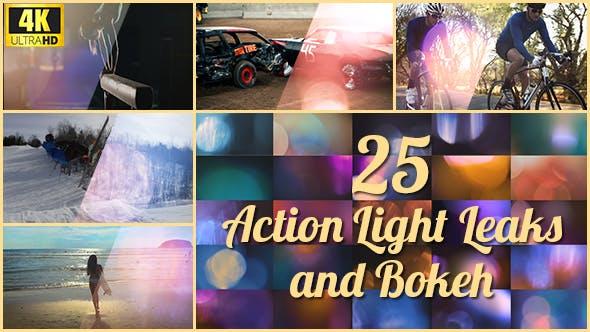 Thumbnail for 25 4K Action Light Leaks and Bokeh
