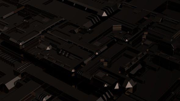Thumbnail for Black Tech Background