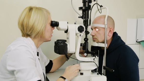 Thumbnail for Patient Having Eye Examination