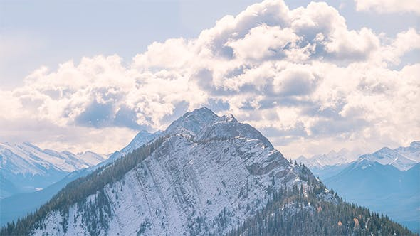 Thumbnail for The Mountains in Banff National Park, Alberta, Canada