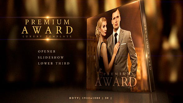 Thumbnail for Premium Award Pack