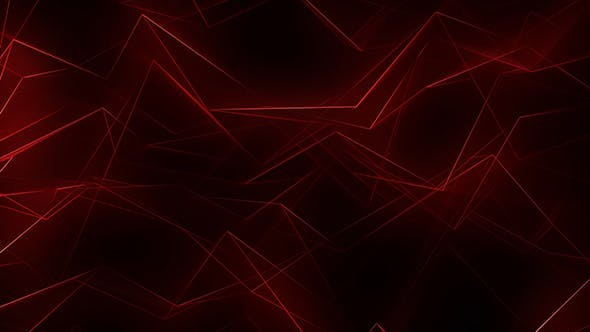 Thumbnail for Red Glowing Neon Lines Background Loop