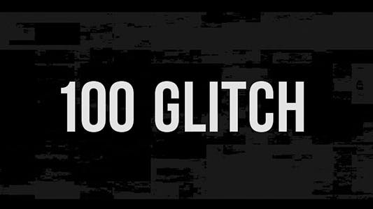 Cover Image for 100 Glitch Overlay