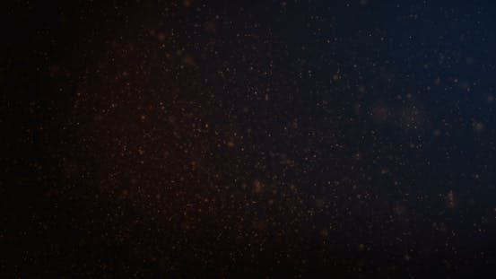 Thumbnail for Loop Moving Orange Particles Background