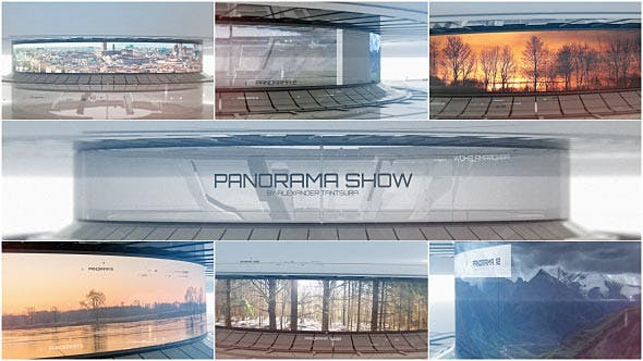 Thumbnail for 3D Panorama | Sci-Fi Video Displays