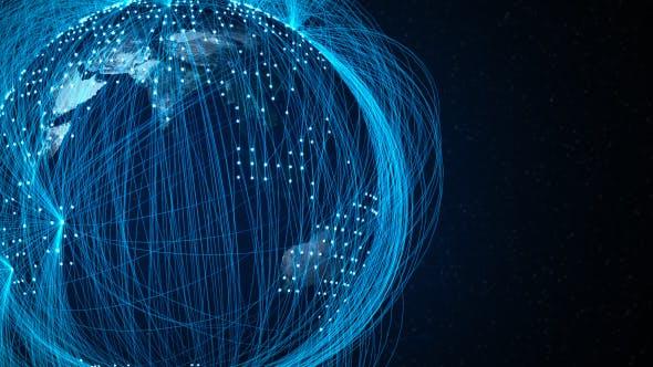 Global World Network Blue
