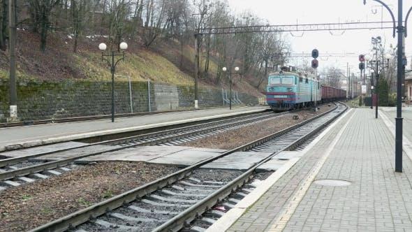 Thumbnail for Railway Train Wagon Railroad