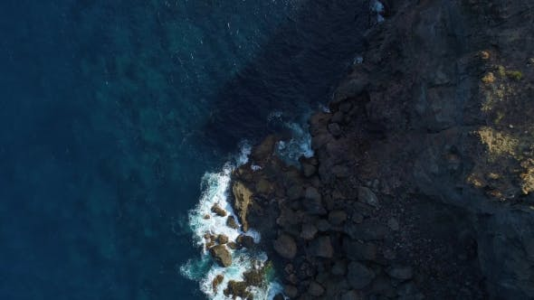 Thumbnail for Flight Over Seashore at Tenerife