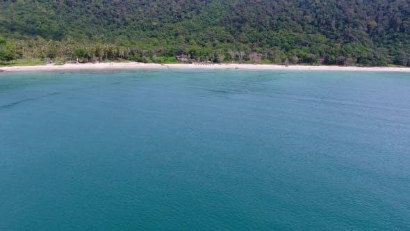 Thumbnail for Aerial Video of Bamboo Beach on Koh Lanta Island