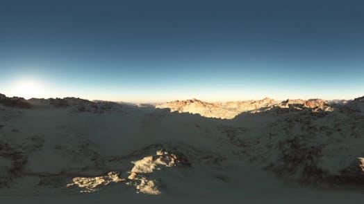 Thumbnail for VR 360 Degree Aerial Panorama of Desert