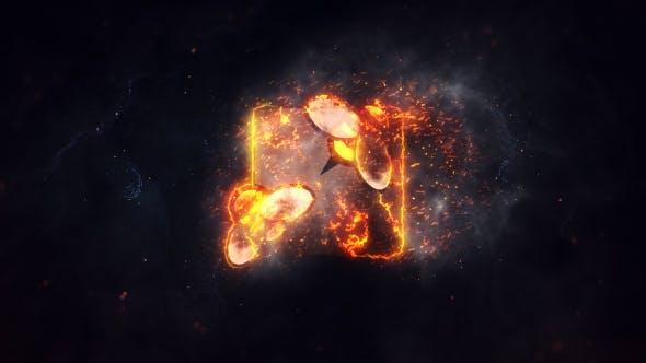 Thumbnail for Burning Fire Logo