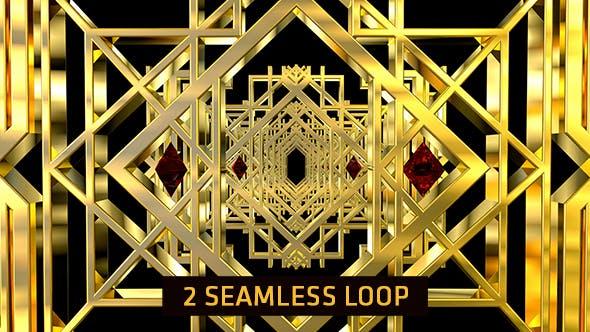 Thumbnail for Golden Art Deco 2