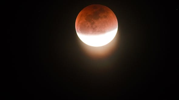 Cover Image for Super Blue Blood Moon. Lunar Eclipse on January 2018
